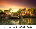 hoi an  vietnam   may 8  2017   ... | Shutterstock . vector #686918434