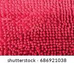 doormat texture background. | Shutterstock . vector #686921038