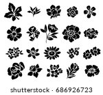flower set | Shutterstock . vector #686926723