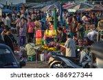 Fresh Food Market At Bang Ta...