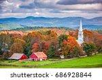 Peacham  Vermont  Usa Rural...