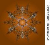 vector illustration. background ... | Shutterstock .eps vector #686983684