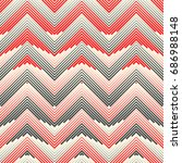 modern zigzag background.... | Shutterstock .eps vector #686988148
