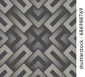 modern sacred background.... | Shutterstock .eps vector #686988769