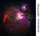 The Orion Nebula Or Messier 42...