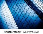 detail shot of modern... | Shutterstock . vector #686996860