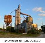 industrial grain distributor   Shutterstock . vector #687005110