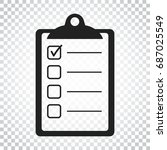 to do list icon. checklist ...