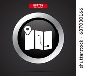 location on map icon