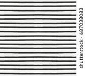 decorative seamless pattern...   Shutterstock .eps vector #687038083