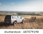 offroad car journey. overlanding | Shutterstock . vector #687079198