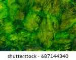 Green Marble Texture With...