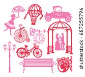 a vector illustration of paper...   Shutterstock .eps vector #687255796