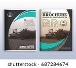 multipurpose modern corporate... | Shutterstock .eps vector #687284674