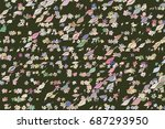 abstract illustrations of... | Shutterstock .eps vector #687293950