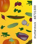 illustration with different... | Shutterstock .eps vector #68731300