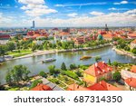 wroclaw  poland   july 29  2017 ... | Shutterstock . vector #687314350