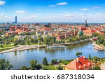 wroclaw  poland   july 29  2017 ... | Shutterstock . vector #687318034