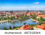 wroclaw  poland   july 29  2017 ... | Shutterstock . vector #687318364