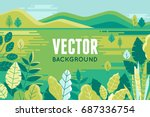 Vector Illustration In Trendy...