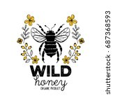 Honey Label Design. Concept Fo...