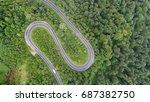 aerial landscape | Shutterstock . vector #687382750