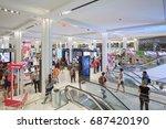 new york   september 10  macy's ... | Shutterstock . vector #687420190