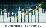 user demographics and a... | Shutterstock . vector #687448480