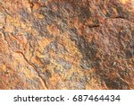 stone texture background detail ... | Shutterstock . vector #687464434