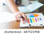 businessman working in office   Shutterstock . vector #687521908