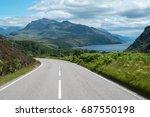 the north coast 500 scenic... | Shutterstock . vector #687550198