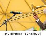 Brass Band  Musical Instrument...