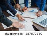 decide together business | Shutterstock . vector #687577360