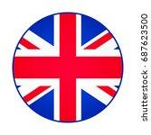 great britain  united kingdom... | Shutterstock . vector #687623500