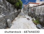 traditional architecture in a...   Shutterstock . vector #687646030