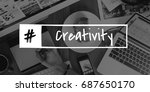 Small photo of Creativity Ideas Creative Thinking Concept