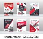 city background business book...   Shutterstock .eps vector #687667033