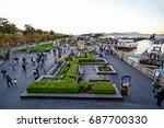 11 24 2014 san francisco ...   Shutterstock . vector #687700330