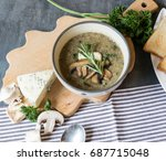 Creamy Mushroom Soup With Root...