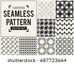 abstract concept vector... | Shutterstock .eps vector #687723664