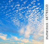 sky and empty space in oman the ... | Shutterstock . vector #687783220
