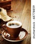 coffee | Shutterstock . vector #68778859
