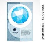 innovation technologies company ... | Shutterstock .eps vector #687794056