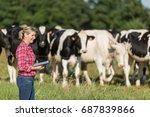 Female Farmer Proud To Work...