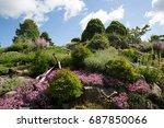 botanical garden | Shutterstock . vector #687850066