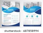template vector design for... | Shutterstock .eps vector #687858994