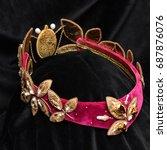 crown  tiara | Shutterstock . vector #687876076