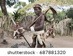 st. lucia  south africa   june... | Shutterstock . vector #687881320