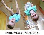 three 5 year old children... | Shutterstock . vector #68788315