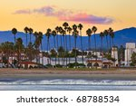 View On Santa Barbara From The...